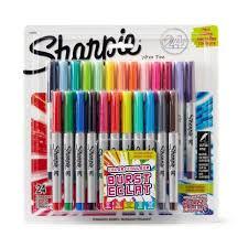 sharpie markers. sharpie® assorted ultra-fine point colour burst permanent markers | walmart canada sharpie n