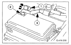 jump start a xjr when the battery is flat and cant get into the boot