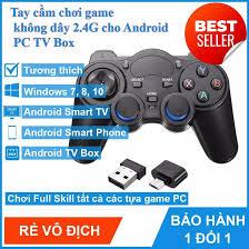 🔥Tặng mã Freeship 20K-40K🔥 Tay cầm chơi game PC / Laptop / Điện Thoại / TV  Android / TV Box - Tay cầm chơi game không dây USB Bluetooth 2.4G