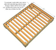 Diy Slat Bed Frame King Size Slatted Bed Frame Bedding Base Without ...