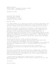 administrative assistant cover letter examples 89