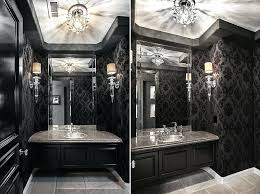 luxury powder room sinks glamorous powder room in black and white from orange coast interior design luxury powder room