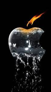 Apple logo wallpaper iphone