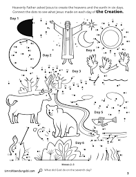 7 Days Of Creation Coloring Pages Free Elegant Images Fresh Creation
