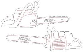 stihl chainsaw drawing. chainsaw stihl ms 880 dxf svg dwg files plasma cutting cnc laser metal art water jet milling router instant download chain saw file drawing 6