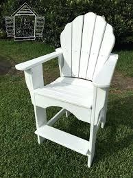 Tall Deck Chair Plans tall wooden adirondack chairs creative chair