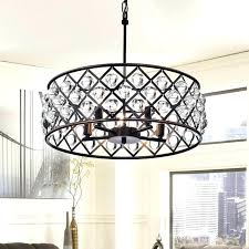 5 light crystal drum chandelier ceiling fixture oil rubbed bronze crystal chandelier 5 light crystal drum