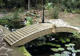backyard bridge designs garden plans home design model arched desi