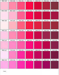 Shades Of Red Hair Dye Colors Chart New Alluring Different