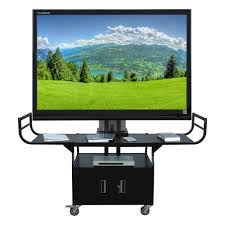 Unique Tv Stands Tv Stands Incredible Flat Panel Tv Cart 2017 Design Tv Stand With