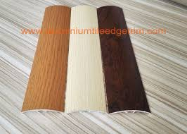 40mm width aluminium floor trims transition door bar threshold strips wood grain effect