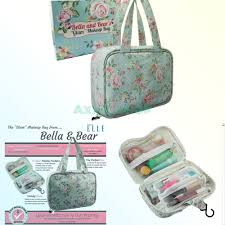 dels about bella and bear toiletry bag for women a hanging travel bag ideal for makeup