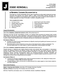 Brilliant Ideas Of General Accounting Resume Cover Letter Examples
