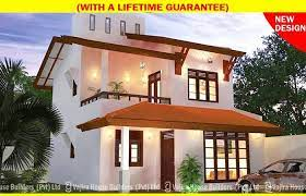 modern two story house plans in sri