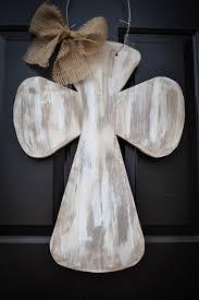 shabby chic wooden cross door hanger sample door hangers andersen 3000 storm door