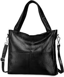 S-Zone <b>Women's</b> Ladies' Cowhide <b>Genuine</b> Soft <b>Leather Tote</b> ...
