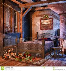 Old Bedroom Old Bedroom With Presents Royalty Free Stock Photos Image 34875998