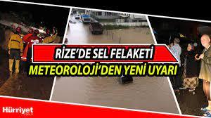 Rize'deki sel felaketinde son dakika gelişmeleri: Rize'de yarın hava durumu  nasıl olacak?