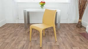 faux leather chair. Contemporary Yellow Dining Chairs Faux Leather Chair I