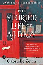 the storied life of aj fikry by gabrielle zevin finished fantastic book took a couple chapters to get into but definitely got great
