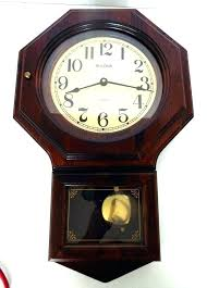 wood wall clocks with pendulum pendulums clock made in vintage wooden for cl