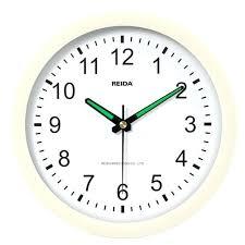 8 inch wall clock clock creative 8 inch super quiet luminous bedroom living room wall clock 8 inch wall clock