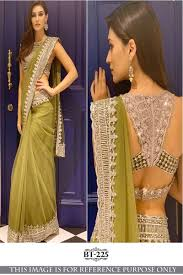 New Bollywood Designer Sarees Bollywood Designer Saree Rjs605 Bt 225