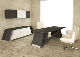 contemporary dark wood office desk. Furniture. Incredible Office Furniture With Black Wooden Desk Plus Bench Shape Decor As Well Contemporary Dark Wood