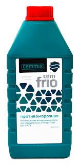 Противоморозная добавка <b>Cemmix</b> CemFrio, 1л за 169 руб ...