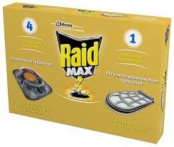 <b>Приманка Raid</b> Max от <b>тараканов</b> + регулятор размножения ...