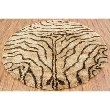 round rugs round animal print tan brown area rug rug outdoor rugs ca