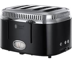 Retro Toasters buy russell hobbs retro 21691 4slice toaster black free 2233 by xevi.us