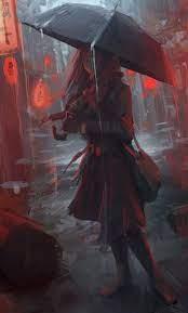 30+ Anime Rain Wallpaper Iphone ...