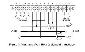 review of ohio semitronics wiring diagrams keeping current edison systems are prevalent in the us and require a 2 element transducer this is considered to be a 1 phase 3 wire system the transducer model number