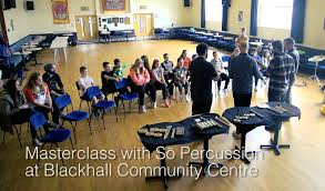 Beats & Pieces Blog: Masterclass with So Percussion | Youth Music Network