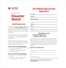 sponsorship agreement sponsorship agreement glamorous hearts sponsorship agreement