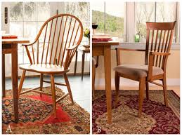 which historic chair is right for your e windsor or shaker modern shaker dining room