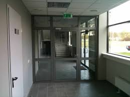 internal fire door with fire resistant glass ei30 c5 1000mm x 2100mm single door