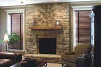 Furniture  Marvelous Cheap Stone Veneer Faux Stone Tiles Fake Stone Fireplace