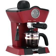 Coffee And Espresso Maker With Built In Grinder Mr Cafe Barista Amazon  Machine Walmart