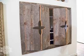 reclaimed wood cabinet doors. Pretty Design Ideas Bifold Cabinet Doors Custom Bi Fold Entertainment Porter Barn Wood Reclaimed E