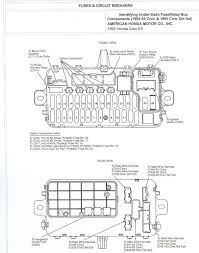 1993 Honda Civic Fuse Diagram 99 Honda Civic Fuse Box Diagram