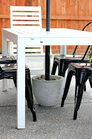 umbrella stand table medium size of side table stand for patio umbrella umbrella stand side table