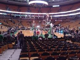 boston td garden. Boston Celtics Seat View For TD Garden Loge 7, Td