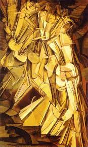 Desnudo bajando una escalera n º 2 de Marcel Duchamp (1887-1968, France) |  | WahooArt.