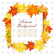 autumn frame vector image vector ilration of borders and frames angelp 110540 to zoom