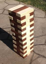Lawn Game With Wooden Blocks Extraordinary Jumbo Wood Blocks Game Wooden Blocks Corporate Event Game Giant