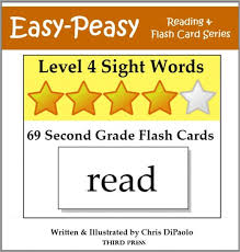 Second Grade Sight Words Flash Cards Level 4 Sight Words 69 Second Grade Flash Cards Aka Dolch Words Or High Frequency Words Nook Book