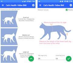Cat Bmi Chart Cats Health Feline Bmi Apk Download Latest Version 1 2