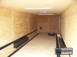 e track d ring and wheel chock options 2 row floor and wall e track home quick e cargo trailers